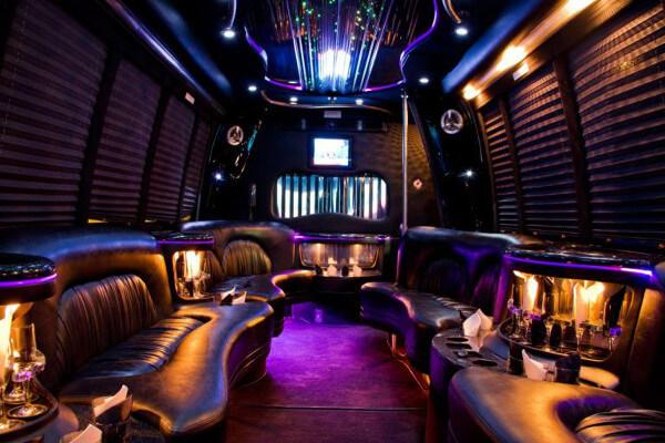 15 Person Party Bus Rental Kansas City