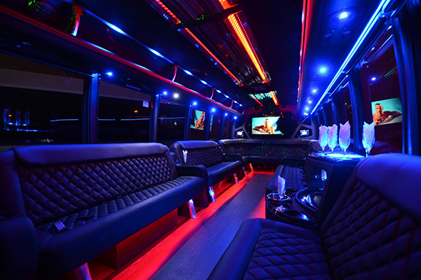 40 Person Party Bus Rental Kansas City